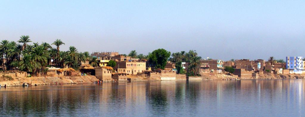 Деревня на берегу Нила