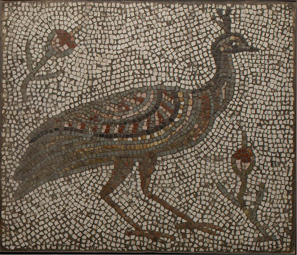 Римская мозаика павлин | karandasha.ru